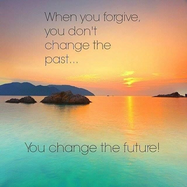 let go, forgive and change your future