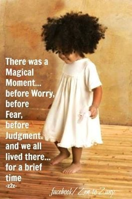 The little girl within us